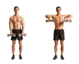 spieren los rollen