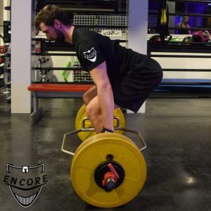 Hexbar deadlift