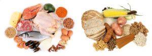 eiwitten-koolhydraten