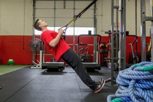 TRX inverted row