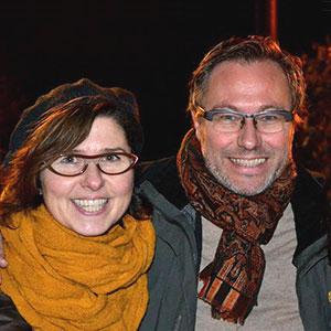 Peggy Buysse en Luc Carlé
