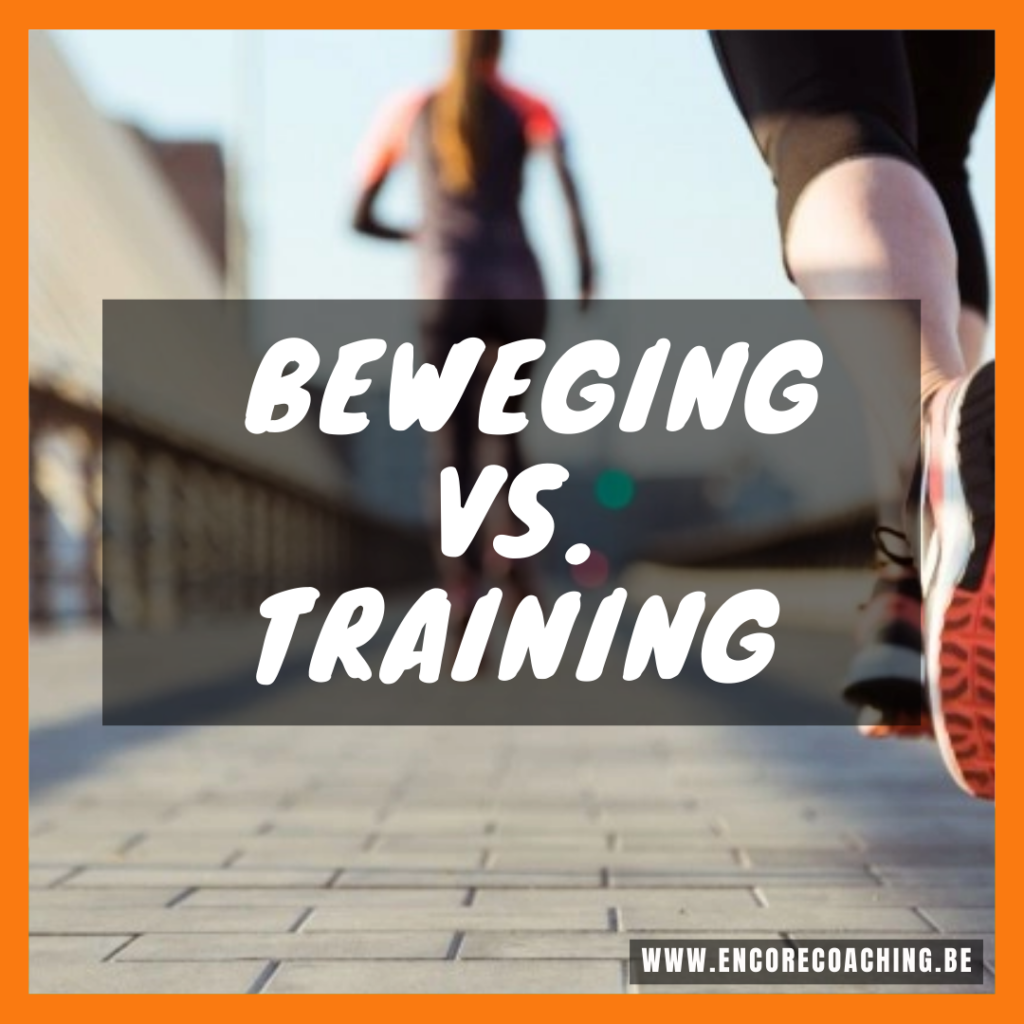 Beweging vs. training